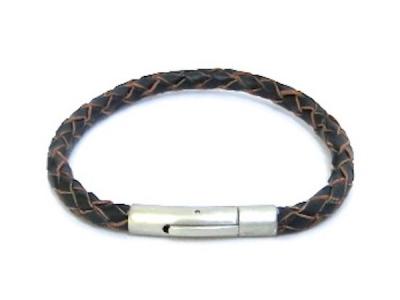 Brace heren armband 09 zwart/bruin