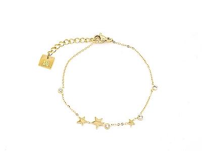 ZAG Bijoux armband bright star goud