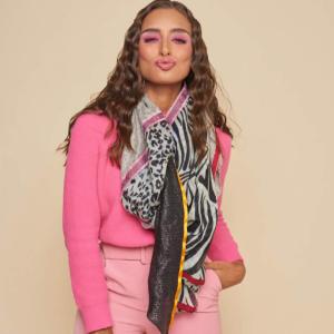 Solito sjaal Leopard SLT 19-025