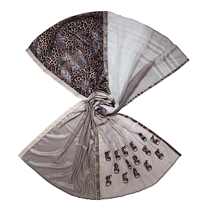 Solito sjaal Panter SLT 014 open