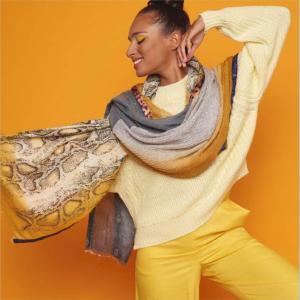Solito sjaal Yellow SLT 19-014a